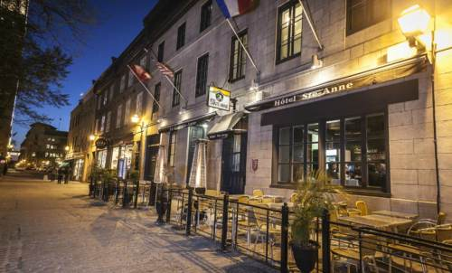 Hôtel Sainte-Anne has hosted a diverse clientele since 2004